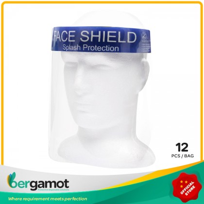 B0517 Plastic Full Cover Face Shield Adult